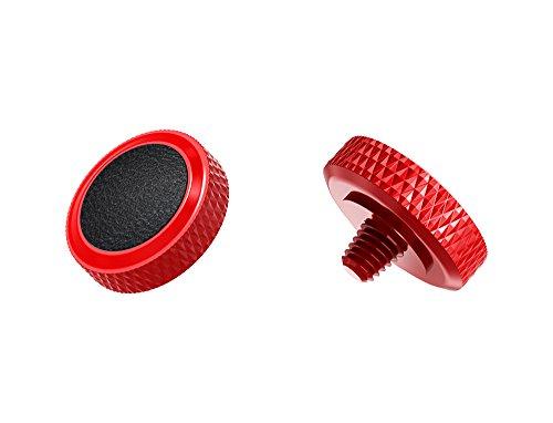 Ergonomischer Auslöser *Kupfer & Kunstleder* Auslöseknopf Soft Release Button für Fuji Fujifilm xt20 x 100f xt10 x-t2 x-pro2 x-pro1 X 100 X100s x100t x30 x 20 x10 x-e3 x-e2s (SRB-R Black)