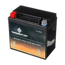 >YTX14-BS ATV Battery by CB CHROMEBATTERY