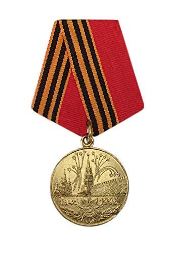 Ganwear® UdSSR Sowjetisch Russische Rote Armee 2. Weltkrieg 50-jähriges Jubiläum Sieg Anstecknadel Medaille