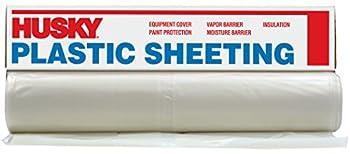 Husky Plastic Sheeting Clear 6ml 6ft x 100ft