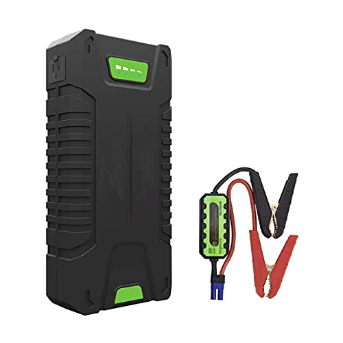 XINTONGSPP Starter de Salto de automóvil, 1000a Peak Ampere Pack Pack Terring Pack Completo Soporte Completo Todo el Motor del vehículo de Gas, 20000mAh 12V Battery Battery Battery