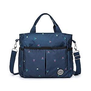Diaper Stackers & Caddies Nursery Essentials Storage,Large Capacity Mommy Basket,Travel Shoulder Waterproof Nappy Portable Stroller Bags