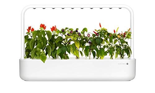 Click & Grow Smart Garden 9 Indoor-Garten M5261900, passend für 9 Kräuterkapseln, weiß