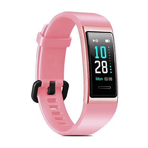 LATEC Orologio Fitness Tracker Smartwatch Fitness Watch Braccialetto Activity Tracker Impermeabile IP68 con 14 Modi di Sport Monitor cardiofrequenzimetro di Sonno Cronometro Chiamata SMS Notifica