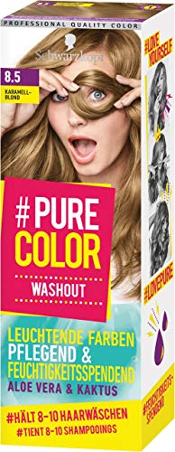 Pure Color Washout 8.5 Karamellblond Stufe 1, 1er Pack (1 x 60 ml)