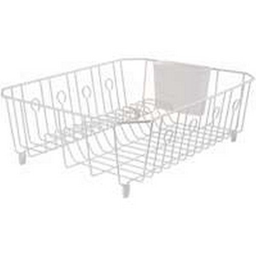 Rubbermaid 6032ARWHT Large White Dish Drainer