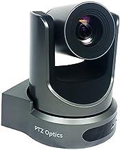 PTZOptics Video Conference and Live Streaming Camera - USB PTZ Camera (20X-USB, Gray)