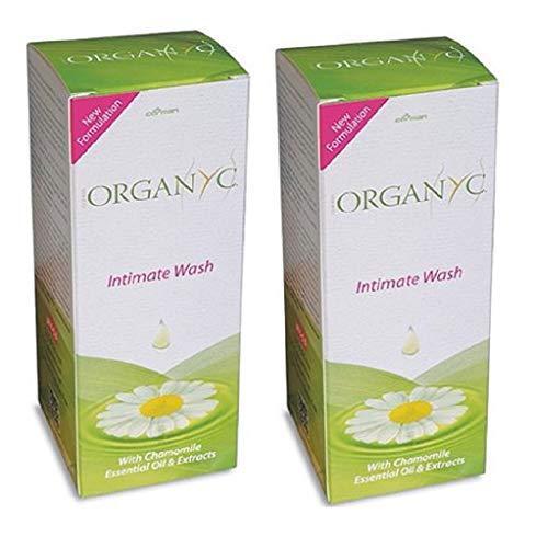 ORGANYC Organic Feminine Intimate Wash, 8.5 oz - 2pc