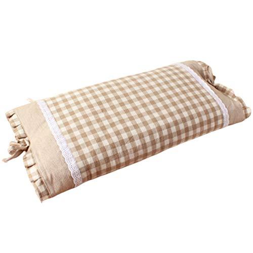 Beada Inicio Textil Almohadas Almohada de trigo duro de trigo sarraceno Almohada rellena de cáscara