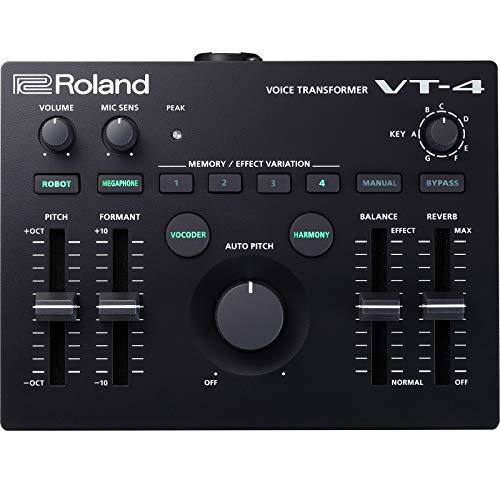 Roland Aira VT-4 Voice Transformer, Harmonizer, Vocoder NEU, Schwarz