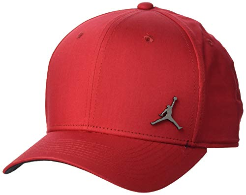 Nike Jordan CLC99 Metal Jumpman - Gorra, Unisex Adulto, Gym Red/Black, MISC
