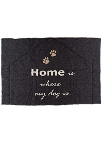 Haustiermatte HOME IS WHERE MY DOG IS 80x120cm - (9269-98)