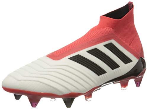 adidas Herren Predator 18+ 360Control SG Fußballschuhe, Weiß (Ftwwht/Cblack/Reacor), 42 2/3 EU