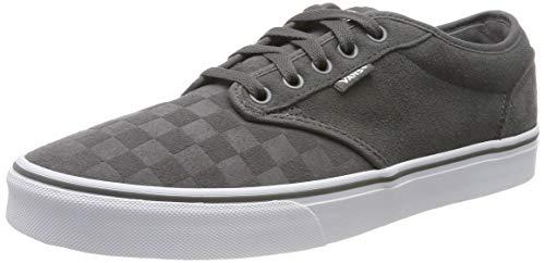Vans Herren Atwood Sneaker, Grau ((Suede Emboss) Pewter/White Uyj), 47 EU