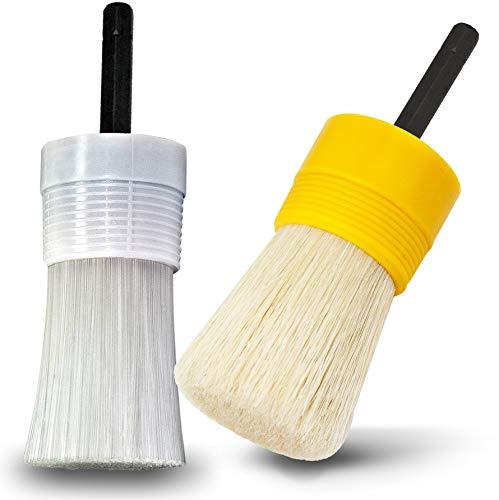 Preisvergleich Produktbild FIX40 Pinsel- & Felgenbürste Reinigungsbürste zur Felgenreinigung & Radreinigung