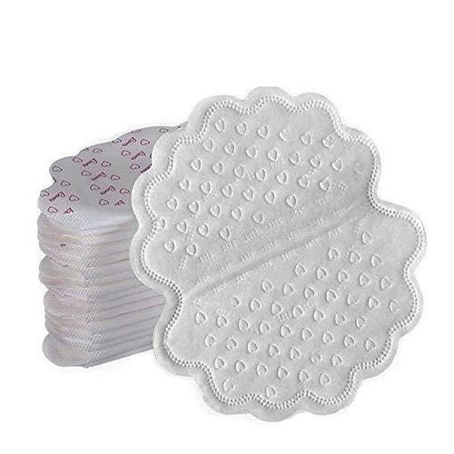 80 piezas Almohadillas de sudor para las axilas, desechables de absorción de sudor almohadillas de verano, antitranspirante desodorante hombre mujer axila absorción de sudor almohadilla