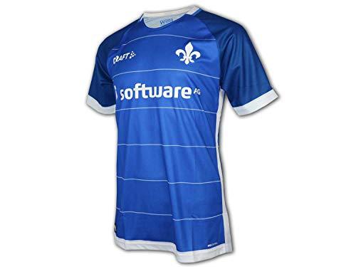 Craft Darmstadt 98 Heim Trikot 18/19 SV98 Home Shirt Darmstadt Fan Jersey blau, Größe:S