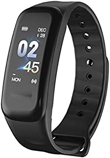LINGJIA Pulsómetros Relojes Deportivos Inteligentes Tracker Impermeable Ritmo Cardíaco Monitor De Presión Arterial Pulsera Al Aire Libre Equipo De Fitness