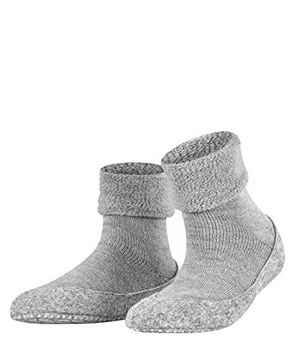 FALKE Damen Cosyshoe W HP Hausschuh-Socken, Blickdicht, Grau (Light Grey 3400), 39-40