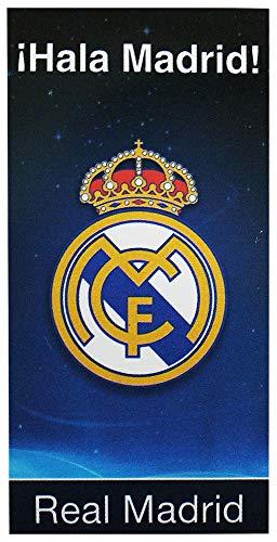 Toalla playa grande algodon 75x150cm 300gr de Real Madrid
