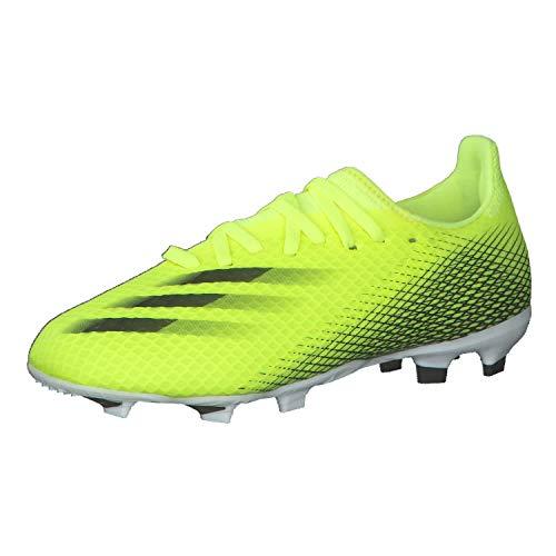 adidas X Ghosted.3 Fg J Fußballschuh, Mehrfarbig Amasol Negbas Azura, 38 EU