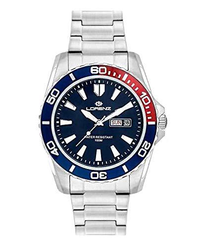 Lorenz - Reloj de hombre 26116DD, 100 metros