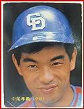 当時物 カルビープロ野球カード 1986年#24 中尾孝義(中日)