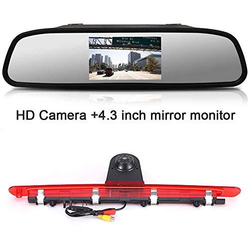 En color en cámara de visión trasera 3 w447 luz freno compatible con MB Vito