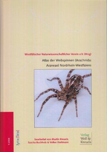 Atlas der Webspinnen (Arachnida: Araneae) Nordrhein-Westfalens