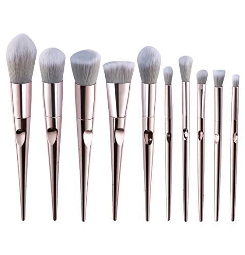 QXX-Make-up Brush Maquillage Brush Set, Fondation Correcteur Eye Shadow mélange Brosse avec Sac de Rangement