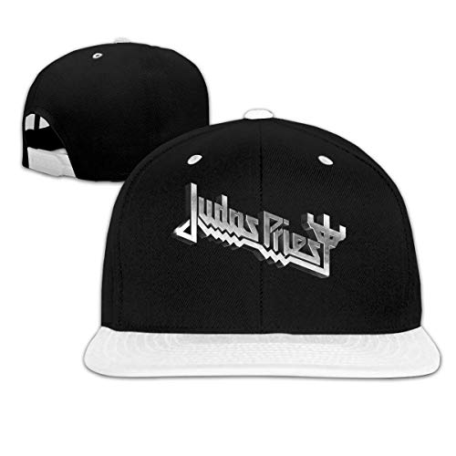 Judas Priest Logo Music Band Logo Hip Hop Cool Baseball Cap White Adjustable Plain Hat Sombreros y Gorras