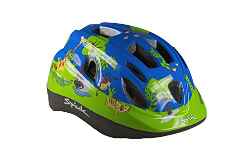 Spiuk Kids - Casco para niños, Color Verde, Talla 52-56