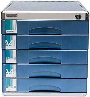 HongLianRiven Meuble Bas en en Alliage d'Aluminium, résistant aux Chocs, pour Divers Bureaux, tiroirs supérieurs utiles, e...