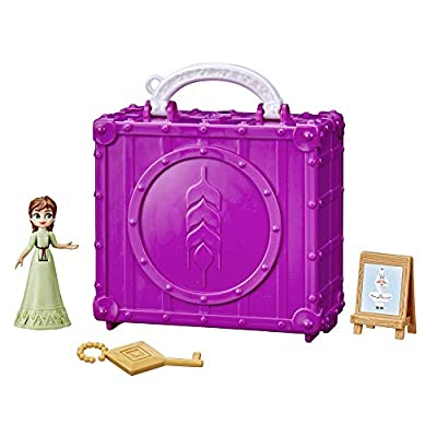 Disney Frozen 2 Pop Adventures Family Game Night Pop-Up Playset with Handle, Including Anna Doll, Toy Inspired 2