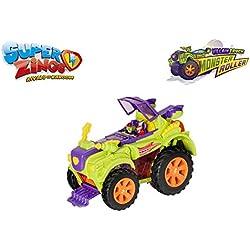 SuperZings - Estación De Policía, con 2 exclusivas Figuras + PlaySet Villano Truck Especial Vehículos y Figuras coleccionables, Color Verde: Amazon.es: Juguetes y juegos