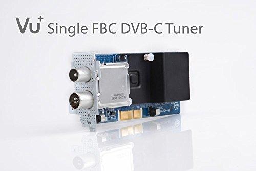VU+ DVB-C FBC Tuner, Silber
