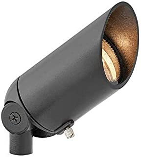 Hinkley Landscape Lighting Satin Black Cast Spot Light – Spotlight Important Landscape Features and Increase Home Security, 50 Watt Maximum Spot Light, Satin Black Finish, 1536SK MR16