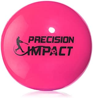 Precision Impact Softball-Size Slugs: Heavy Weighted Softballs for Practice; Hitting Training Aid (6-Pack)