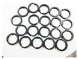 JIABIN Songz Store 10 PCS Anillos de pistón Ajuste para compresores de WABCO Ajuste ensamblado para BMW E39 E53 FIT FOR Audi A6C5 C6 Q7 Tourag E 7L Todas Las Bombas de Modelos.