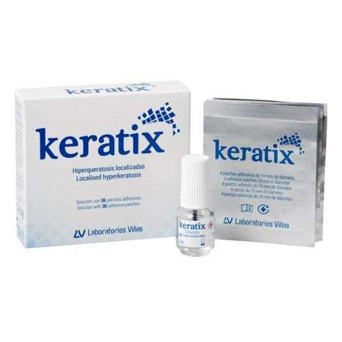 Viñas Keratix 25% 36 parches