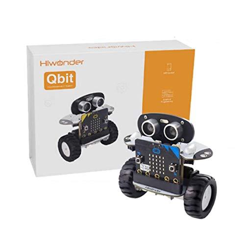 JING Kits De Vástago De Juguete De Juguete De Coche RC De DIY, RC Dos Ruedas Auto Equilibrio Robot Automóvil Programable Kit, 13 Formas Creativas, Evitación De Obstáculos Inteligentes