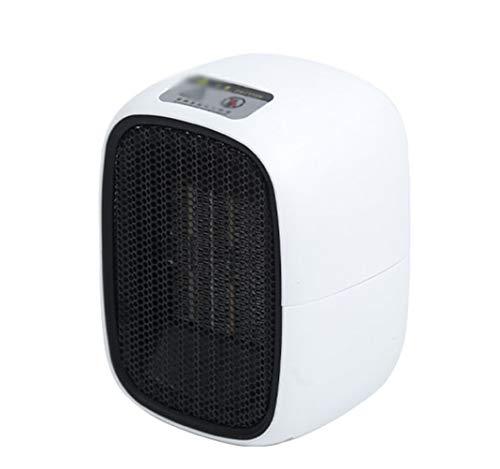 YYHXX Termoventilatore, Stufa Elettrica Basso Consumo, Mini Termoventilatore Ceramica Veloce Riscaldamento Silenzioso Desktop Bianco