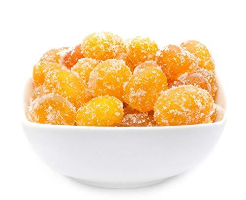 1 x 700g Kumquats getrocknet kandiert Zwergorange exotisch fruchtig Trockenfrucht Snack fettfrei salzfrei vegetarisch vegan glutenfrei laktosefrei 100 % Premium