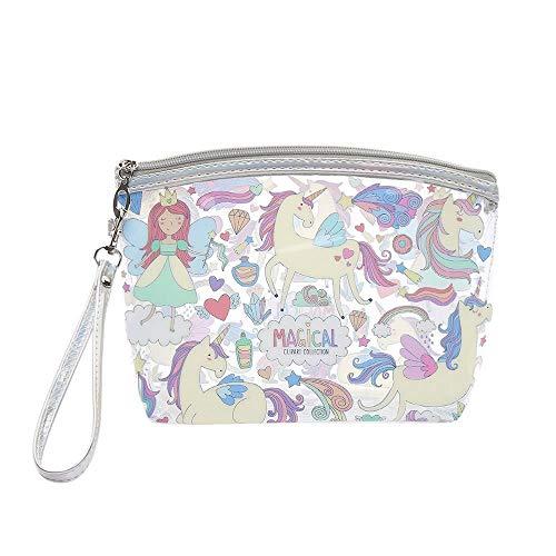 JIANYUXIN Trousse De Toilette Pvc Cosmetic Bag Waterproof Cosmetic Bag Alpaca Transparent Travel Cosmetic Bag Storage Bag Zipper Bag A3