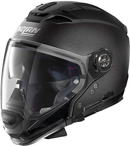 Nolan N70-2 GT Special N-COM, Motorradhelm, Black Graphite L (schwarz) L
