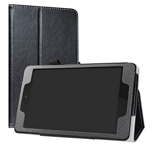 LiuShan ALLDOCUBE M8 ALLDOCUBE iplay8 pro hulle Folding PU Leder Tasche Hulle Case mit Stander fur 80 ALLDOCUBE M8 ALLDOCUBE iplay8 proNot fit ALLDOCUBE M8 100 inch Android TabletSchwarz