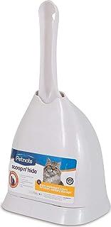 Petmate Boode Scoop'N Hide Deep-Bucket Cat Litter Scoop Built-In Rake 3 Colors