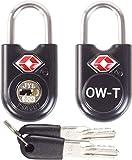 Cadenas Clé TSA pour Valise OW-Travel ANTIVOL Titan pour Bagages Casier Rangement Locker Casier Armoire Metallique. Serrure À...