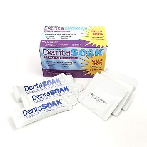 DentaSOAK Refill Kit - Mouthguar...
