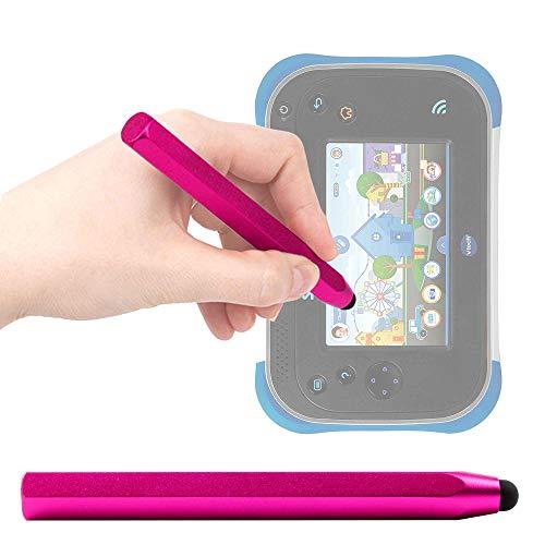 DURAGADGET Stylet Tactile Rose pour Vtech Storio Max XL 2.0 Tablette Enfant (Bleu ou Rose 3480 – 194622) - Forme Crayon Ergonomique